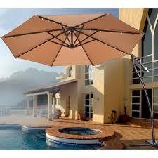 Ebay Patio Umbrellas by Super Powerful Led Patio Umbrella Lights New Solar 40 Led Lights