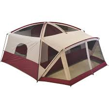 ozark trail 12 person cabin tent with screen porch walmart com