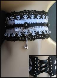 key choker necklace images Lolita choker by mornie alfinus jpg