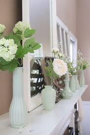 decorate decorate your mantel faux milk glass mantel for spring my life