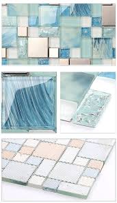 kitchen home depot glass tile sea glass backsplash mosaic
