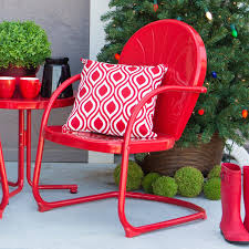 Metal Retro Patio Furniture by Coral Coast Retro Vintage Chair Hayneedle