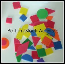 the activity mom pattern block activities