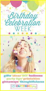 birthday celebration week