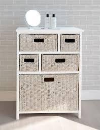 Bathroom Drawers Storage Tetbury Storage Unit Large Chest Of Drawers Storage Baskets