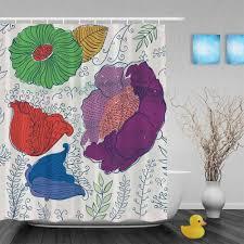 Ruffle Shower Curtain Uk - shower blue shower curtains beautiful bright shower curtains