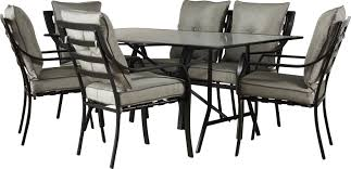 Outdoor Dining Room Sets Brayden Studio Sweetman 7 Piece Outdoor Dining Set With Cushion