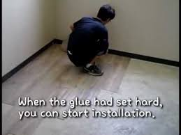 Vinyl Tile Installation Unideco Vinyl Tile Installation Guide Youtube