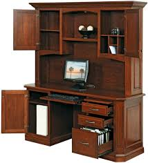 Computer Desk With Hutch Cavalier Solid Wood Computer Desk Countryside Amish Furniture