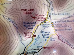 Iditarod Map Iditarod Without Mushing U2013 How To Cross A Gorge Without Getting