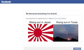 Japanese Flag Rising Sun Tony U0027s Thoughts Facebook Offended By A Flag And The Sun