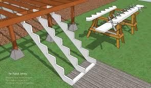 deck stair layout 101 fine homebuilding