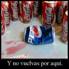 Coca Cola Meme - coca cola vs pepsi cola lo que me hizo re祗r pinterest