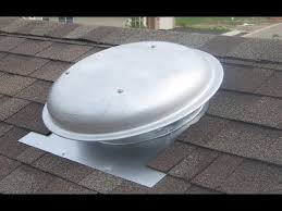 16 inch whole house fan installing a roof top attic fan youtube