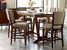 elise stella counter height dining room set from kincaid 77 059