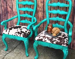Turquoise Accent Chair Accent Chair Etsy