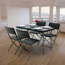 ikayaa rattan portable folding table u0026amp chiar u0026amp bench for