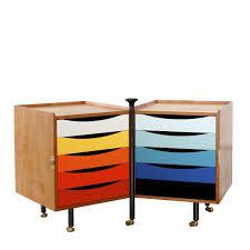 caisson de bureau sur roulettes caisson de bureau en bois en acier 5 tiroirs roulettes avec caisson