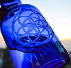 blue seed seed of life vitality blue bottle love
