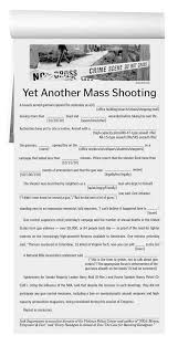 Fill In Resume Online Free Mass Shooting Template Repeat As Necessary Huffpost