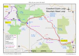 Raccoon Creek State Park Map by Golden Gate State Park Coloradobikemaps