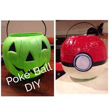 plastic pumpkin turned poke u0027 ball duct tape masking tape