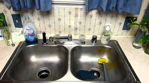 how to install kitchen sink faucet howto replacing a mobile home kitchen faucet part 3 youtube