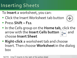 a lesson approach 2 insert and delete sheets and cells 1 copy