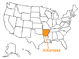 us map with arkansas the us50 a guide to the state of arkansas geography