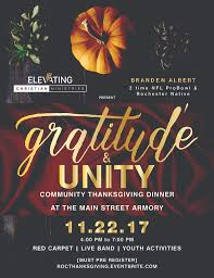 gratitude unity thanksgiving community dinner tickets wed