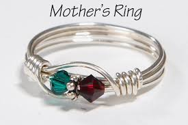 day rings personalized 2 s birthstone ring personalized sterling
