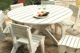 White Patio Dining Set by Patio Round Tables U2013 Smashingplates Us