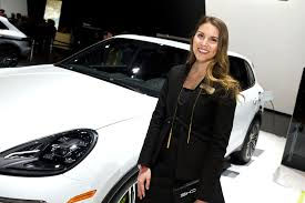 lexus female models the weird lonely life of an auto show model new york post