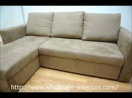 Convertible Sectional Sofa Bed Wholesale Interiors Linden Tan Microfiber Convertible Sectional