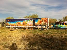 wall murals drew brophy surf lifestyle art pipeline catering mural on side of tractor trailer vernal utah