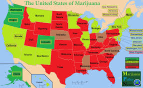 States In United States Map by The United States Of Marijuana Medical Marijuana
