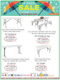 total home interior solutions home furniture sumo folding tables sale lazada u0027s wet season promo