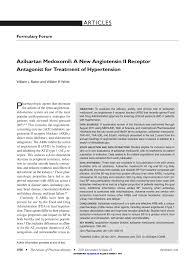 azilsartan medoxomil a new angiotensin ii receptor antagonist for