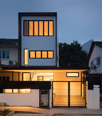 Front Home Design News by The Frame House By Atelier M A