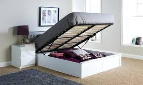 Wooden Ottoman Bed Frame Arline De Thesaucytomato Info
