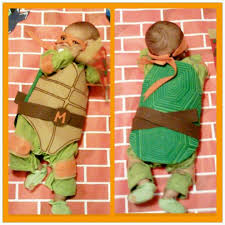 Ninja Turtle Halloween Costume Toddler Tmnt Costume Baby Bigdiyideas