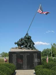 Flag Iwo Jima National Iwo Jima Monument Conserve Art