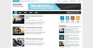 Templates Blogger Premium 2015 | download fastest magz premium blogger template themes24x7