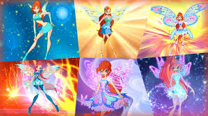 bloom winx club bloom all full transformations up to tynix hd youtube