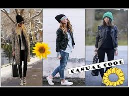 casual for cool winter autumn fall casual youtube