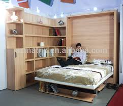 space saving double bed space saving double vertical high quality murphy bed with desk view