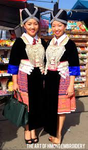 new year attire hmong new year the of hmong embroidery