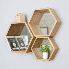 Wood Shelf Making by Best 25 Hexagon Shelves Ideas On Pinterest Honeycomb Shelves