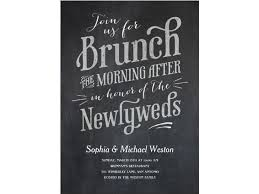 brunch invitations our favorite post wedding brunch invitations