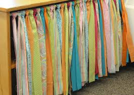 Homemade Curtains Without Sewing No Sew Table Skirt Tutorial Differentiated Kindergarten